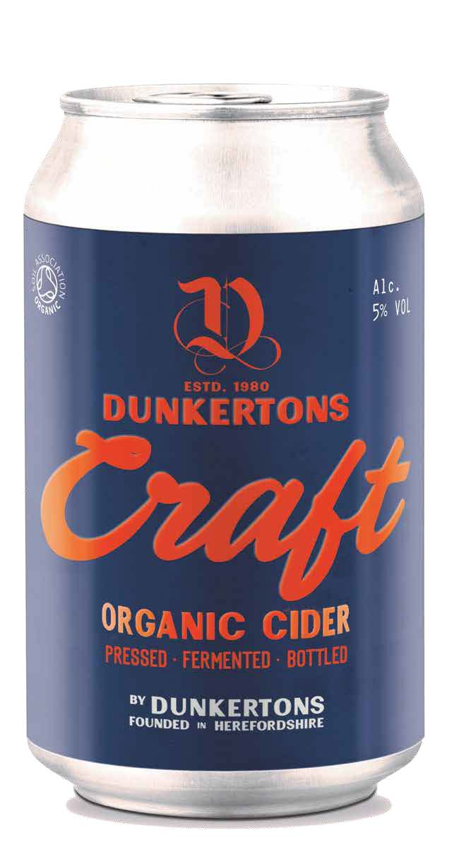 Dunkertons Organic Cider: Certified Organic Cidery Launches 'Craft' Cider Can