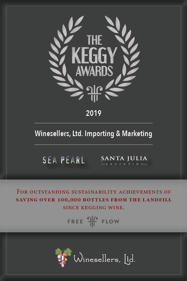 WINESELLERS, LTD. HONORED AT FREE FLOW WINES KEGGY AWARDS