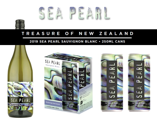 The Treasure of New Zealand, Winesellers Launches Sea Pearl Sauvignon Blanc in 250ml Cans!