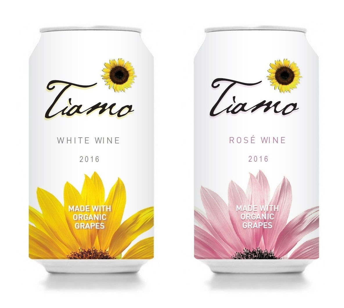 Winesellers, Ltd. Debuts Tiamo Organic Wines in a Can
