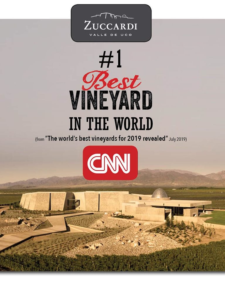 ZUCCARDI VALLE DE UCO RANKS #1 ON WORLD'S BEST VINEYARDS OF 2019 LIST