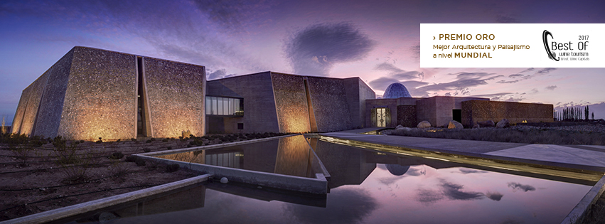 Winesellers, Ltd. Zuccardi Valle de Uco: Best Architecture and Landscaping in the World